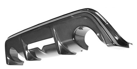 APR Carbon Fiber Rear Diffuser - 2013+ FR-S / BRZ