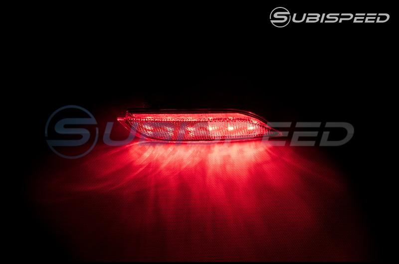 OLM LED Rear Fog / Brake / Turn Signal Light Reflector