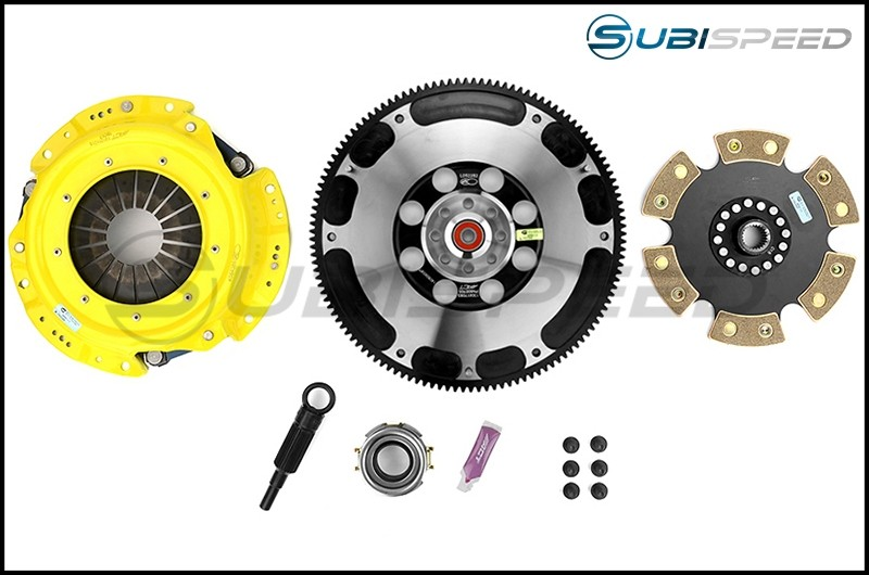 ACT Heavy Duty Solid 6-Puck Disc Clutch Kit Prolite Flywheel Included