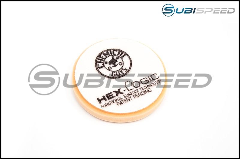 Chemical Guys Hex-Logic Medium-Heavy Cutting Pad, Orange 5.5in