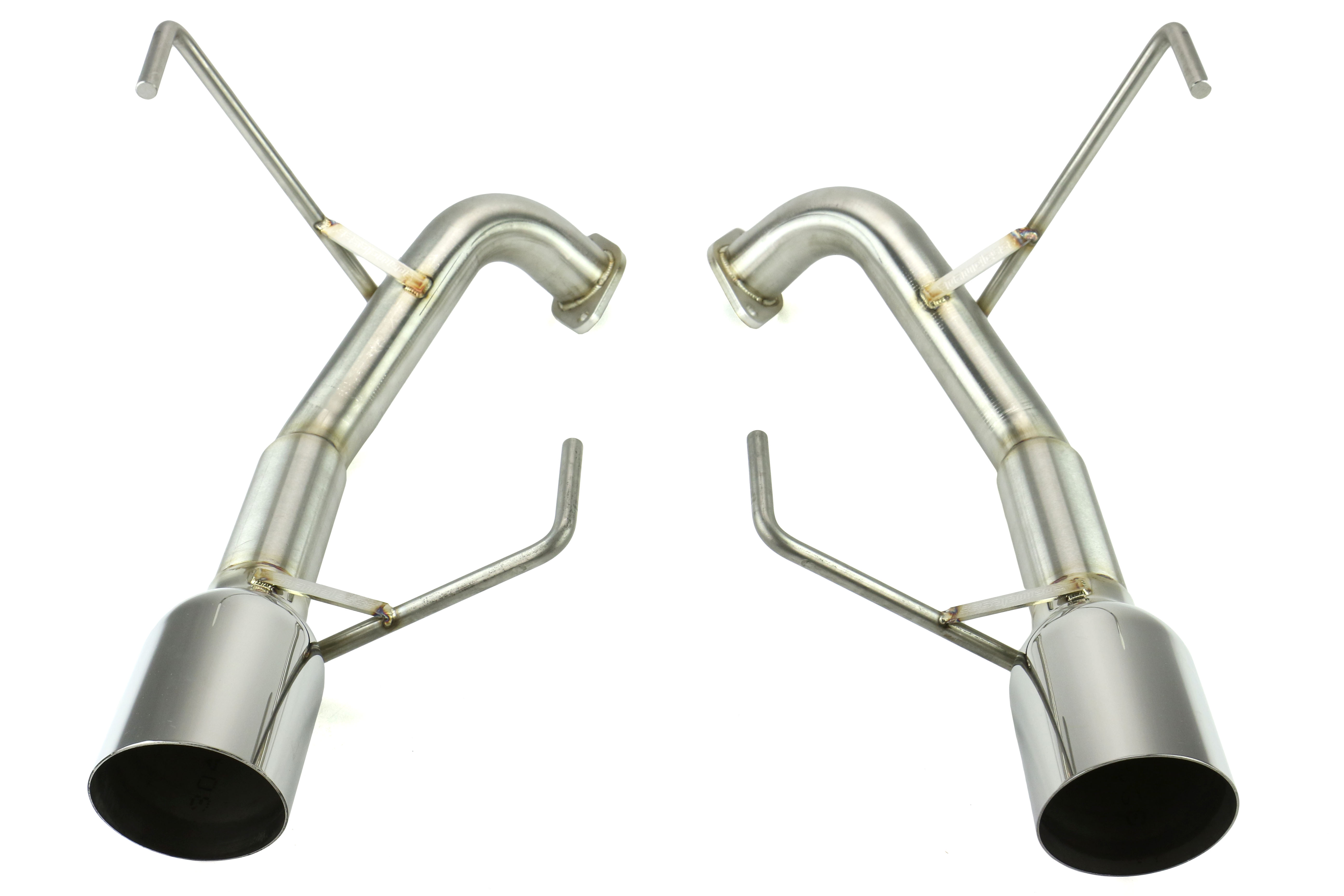 Nameless Performance Axleback Exhaust 4in Single Wall Tips