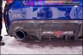 Seibon Carbon Rear Diffuser Cover - 2013-2016 FR-S / BRZ