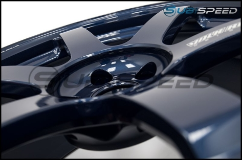 Volk TE37 SAGA Mag Blue 18x10 +41 - 2015+ WRX / 2015+ STI