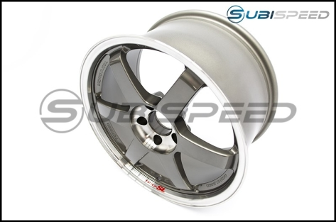 Volk 18x9.5 TE37 Pressed Graphite Wheels (40mm Offset) - 2015-2020 Subaru WRX & STI