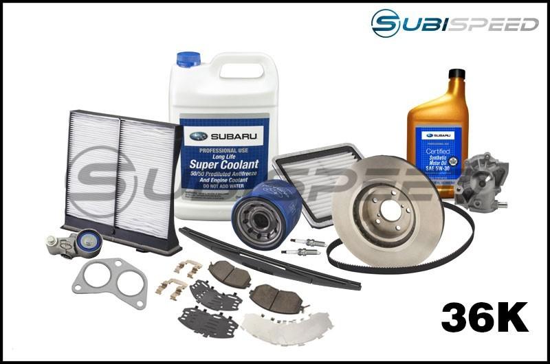 Subaru 36,000 Mile Maintenance Kit - 2015+ WRX