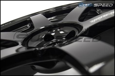 Volk TE37 SAGA Gloss Black 18x10 +41 - 2015+ WRX / 2015+ STI