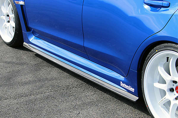 Chargespeed Carbon Fiber Bottom Line T1 Side Skirts
