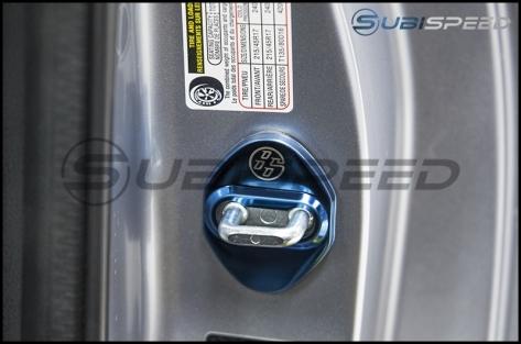 GCS Mirrored Door Striker Covers