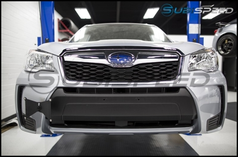 Perrin Front License Plate Relocation Kit - 2014+ Forester / 2018+ Crosstrek
