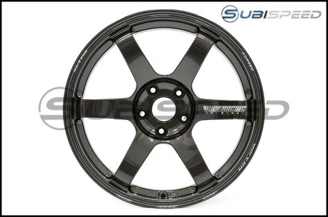 Volk TE37 SAGA Diamond Dark Gunmetal 18x9.5 +38 - 2015+ WRX / 2015+ STI
