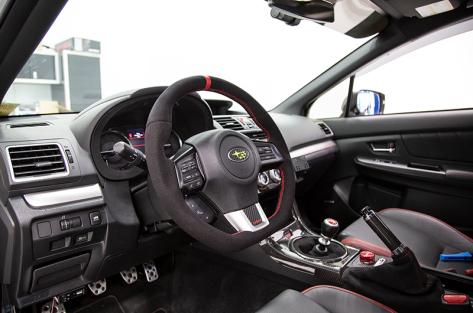 FactionFab Suede Steering Wheel - 2015+ WRX / 2015+ STI
