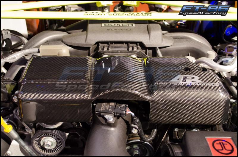 APR Carbon Fiber Alternator Cover