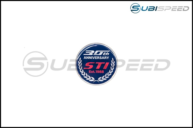 STI 30th Anniversary Emblem (Type RA-R)
