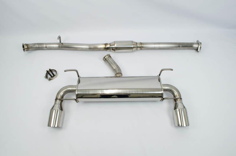 FT-86 SpeedFactory V1 Cat Back Exhaust (Resonated)