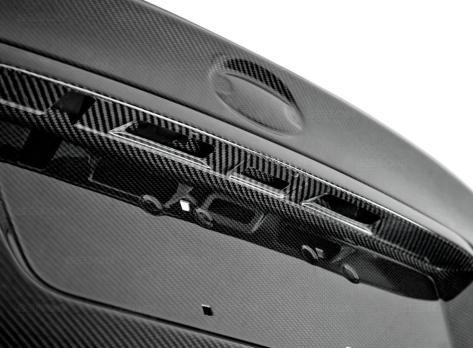 Seibon OEM-Style Carbon Fiber Trunk Lid - 2015+ WRX / 2015+ STI
