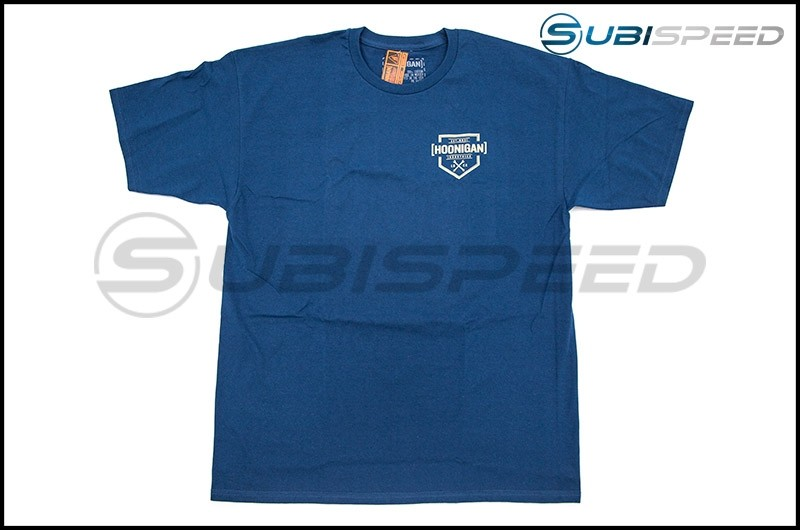 HOONIGAN Bracket X Short Sleeve Blue Tee