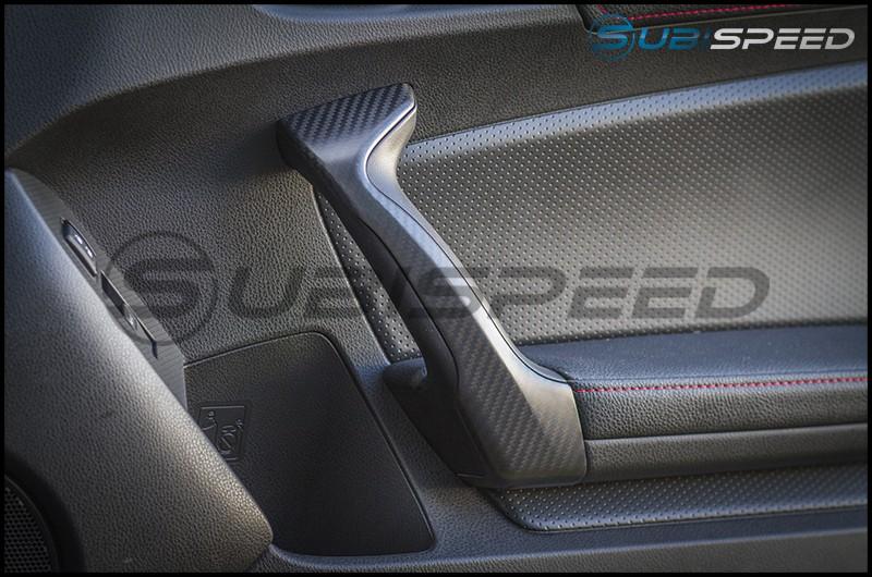 OLM Dry Carbon Fiber Interior Door Handle Covers