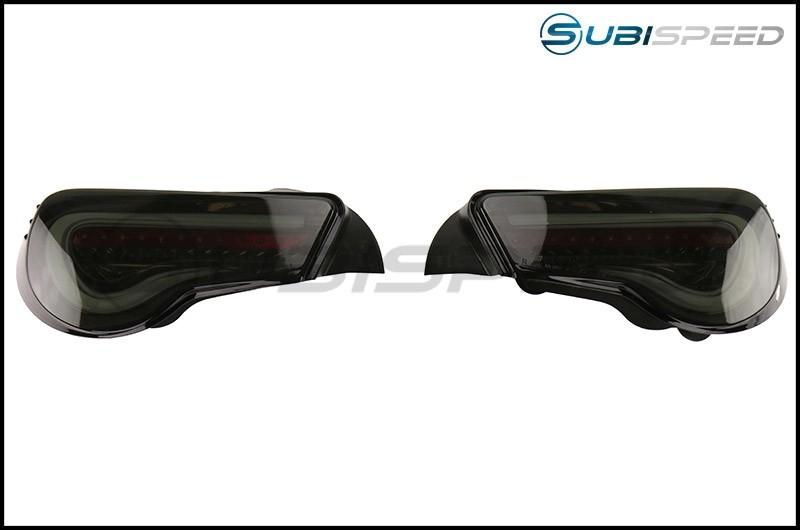 Valenti Jewel LED Tail Light (Light Smoke Lens, Black Chrome Inner Reflector)