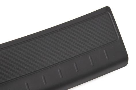 OLM V2 Carbon Look Rear Bumper Protector - 2015+ WRX / 2015+ WRX STI
