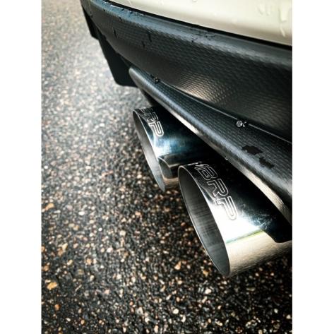 MBRP Street 3in Quad Tip Cat Back Exhaust - 2015+ WRX / 2015+ STI