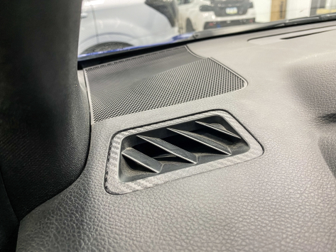 StickerFab 3D Carbon Defroster Vent Overlays