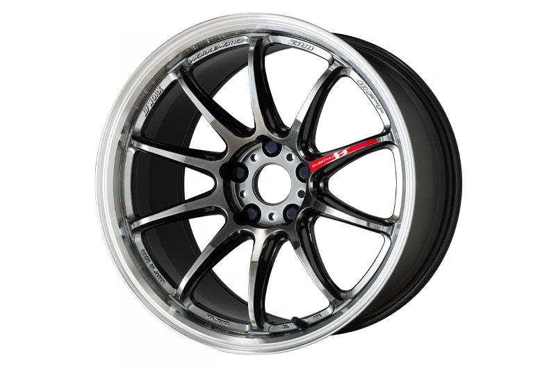 Work Wheels Emotion ZR10 19x10.5 +30 Glim Black Diamond Rim Cut (GTKRC) - 2015-2020 Subaru WRX & STI