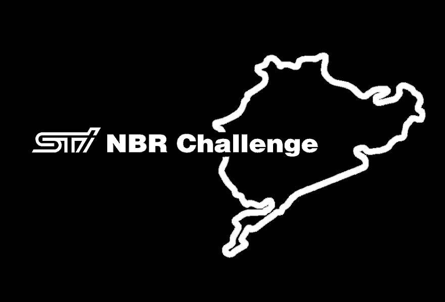 Subaru STI Nürburgring Challenge Stickers