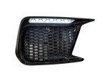 Sticker Fab Dark Smoke Honeycomb DRL Bezel Overlay - 2018-2021 Subaru WRX & STI
