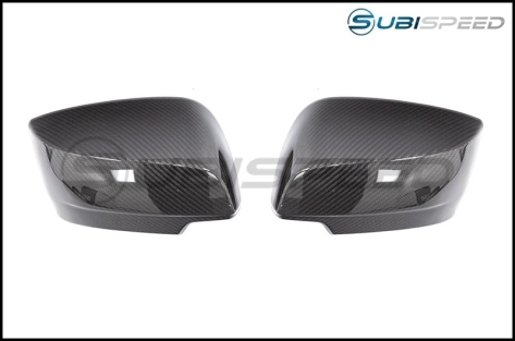 OLM LE Dry Carbon Fiber Full Mirror Covers (No Turn Signal Hole)