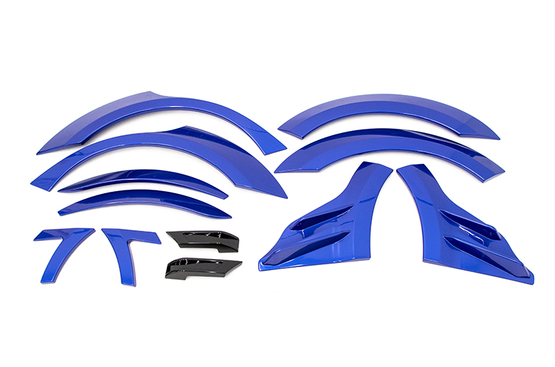 OLM S209 Style Paint Matched Fender Flare (12pc Set)