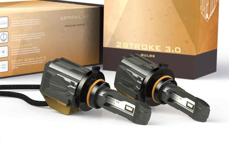 Morimoto 9005 H10: 2Stroke 3.0 LED Bulb