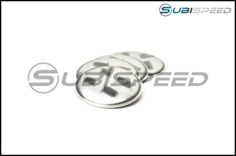 86 Metal Logo Brushed Metal Center Cap Covers (Set) - 2013+ FR-S / BRZ
