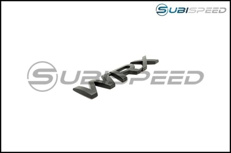 Matte Black Emblem Pack - 2015-2020 Subaru WRX