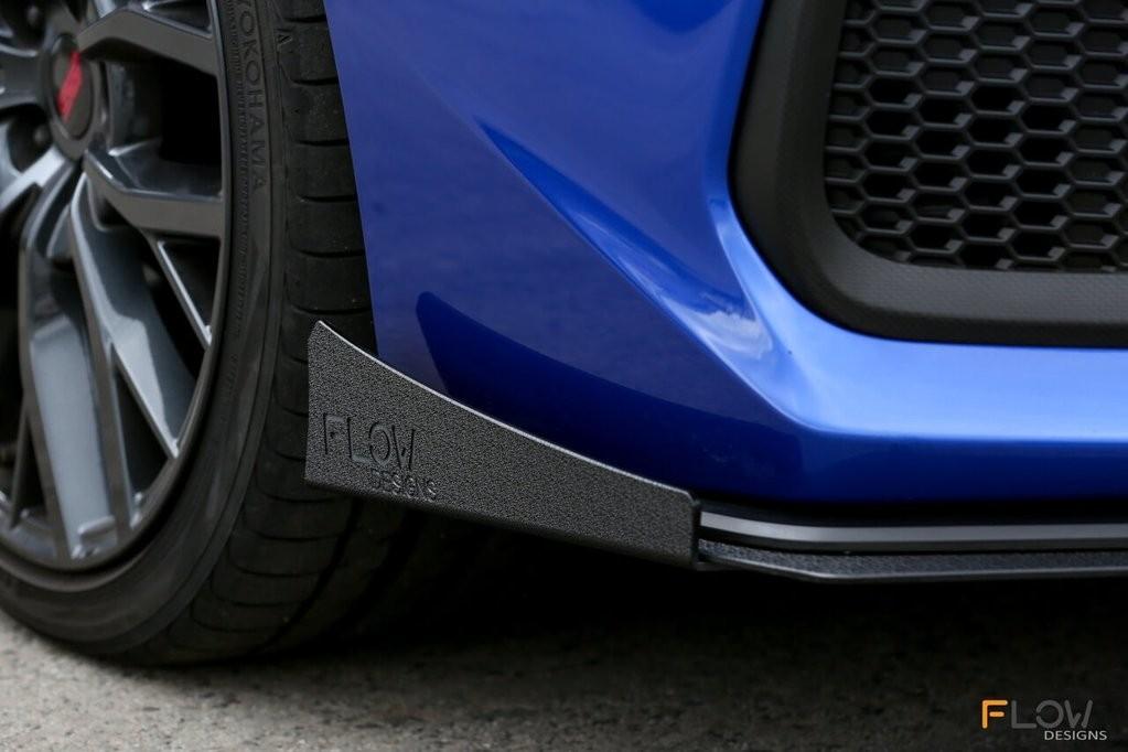 Flow Designs Front Splitter Option B Winglets