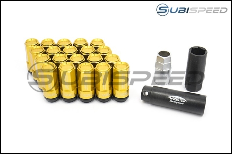 Project Kics Leggdura Racing Shell Type Lug Nut 53mm (Closed-End) - Universal