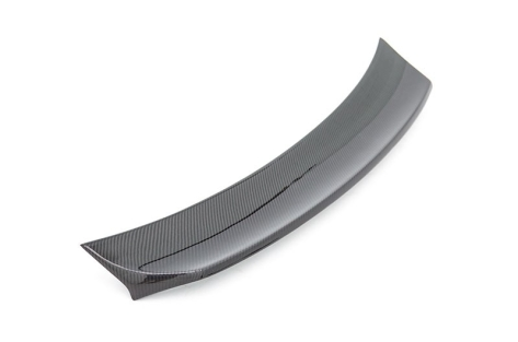 OLM Single Point Carbon Fiber Duckbill Trunk Spoiler - 2015+ WRX / 2015+ STI