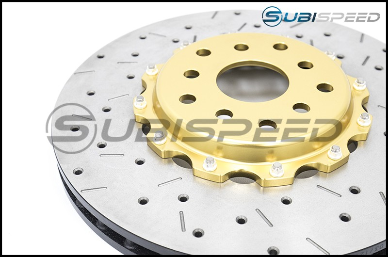 DBA 5000 Series 2 Piece Drilled and Slotted Rotor (Front)