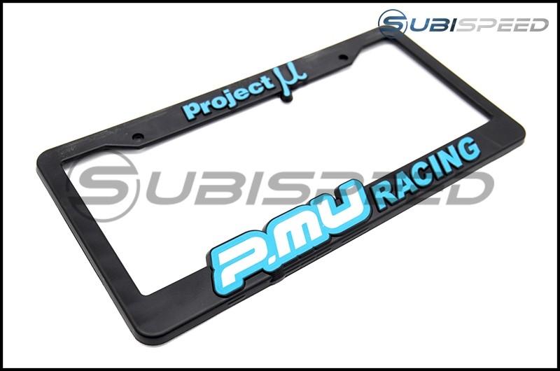 Project Mu License Plate Frame