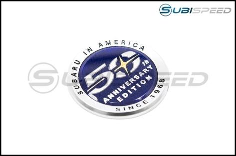 Subaru 50th Anniversary OEM Emblem - Universal