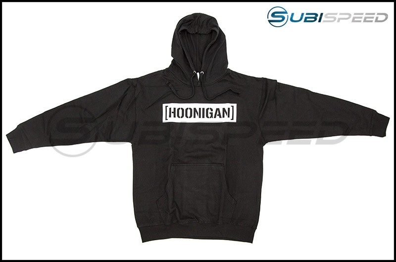 HOONIGAN Censor Bar Pullover Hoodie Black / White