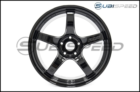 Rays Gram Lights 57CR Glossy Black 18X9.5 +38