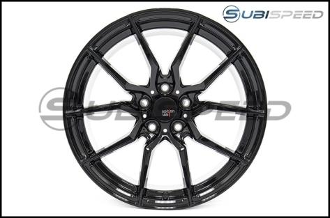 Option Lab R716 18x8.5 +35 Gotham Black Wheels - 2015+ WRX / 2015+ STI