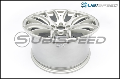 Miro Type 111 Wheels 18x9.5 +40mm (Silver) - 2015+ WRX / 2015+ STI