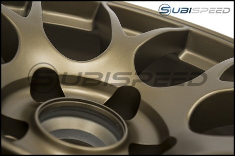Apex Race Parts EC-7 Satin Bronze 18x9.5 +38mm - 2015+ WRX / 2015+ STI