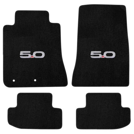 OEM 4pc Fit Carpeted Floor Mats with Available Logos