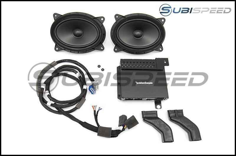 Subaru Audio Speaker Upgrade by Rockford Fosgate