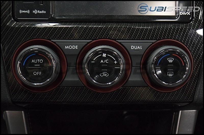 Subaru Matte Black AC Knob Full Replacement