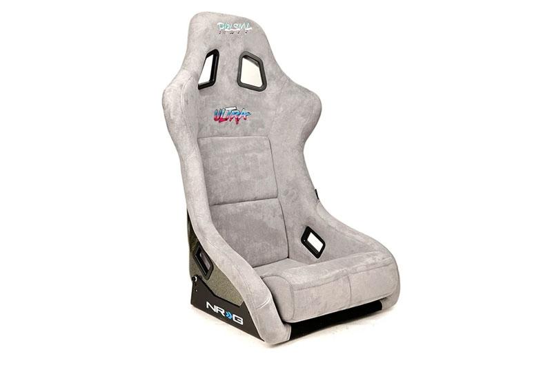 NRG Innovations FRP Ultra Edition Bucket Seat - Grey