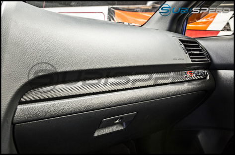 Sticker Fab 3D Carbon Dash Overlay Package - 2015+ WRX