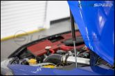 OLM Carbon Fiber Hood Struts - 2015+ WRX / 2015+ STI
